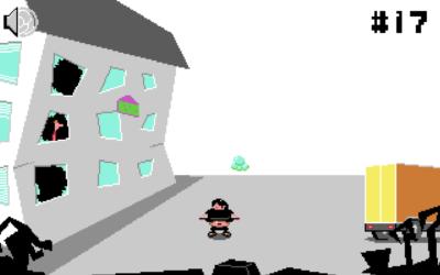 Skärmdump från spelet Yzdemo 3